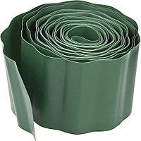 Лента бордюрная, Grinda, 15 см х 9 м, зеленая (422245-15)