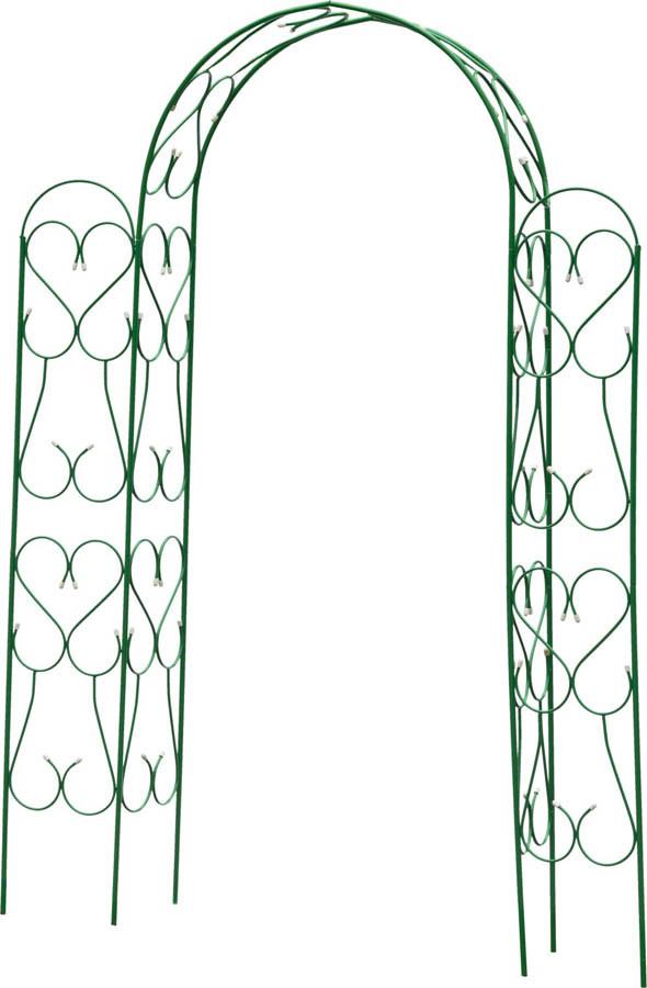 Арка декоративная АМПИР, Grinda, 240 x 120 x 36 см, угловая, разборная (422253)