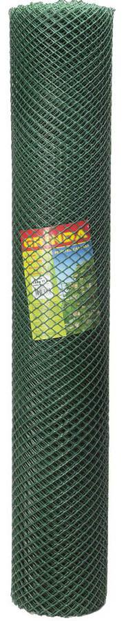 Решетка садовая, Grinda, 1,63x15 м, 18х18 мм, хаки, 2 шт. (422277)