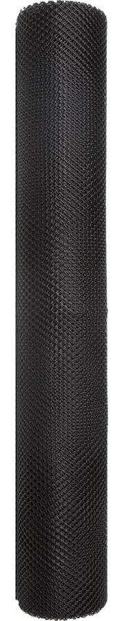 Сетка газонная, Grinda, 1 х 10 м, 9 х 9 мм, черный, против кротов (422285)