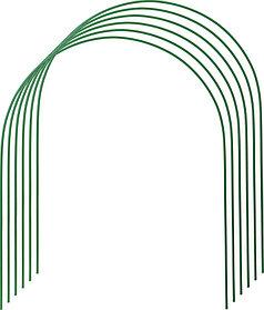 Дуги для парника, Grinda, 3 м, 6 шт., покрытие ПВХ (422309-100-120)