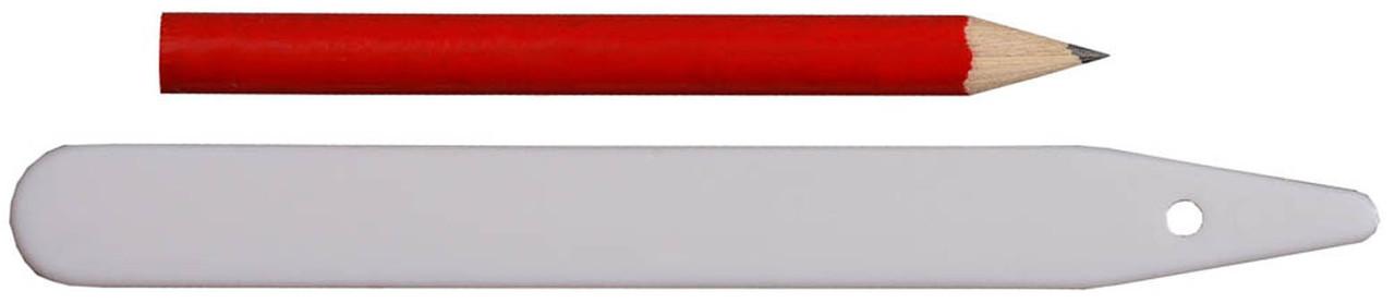 Набор меток-ориентиров с карандашом, Grinda, 125 мм, 25 шт (8-422367-H26)