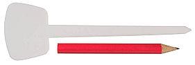 Набор меток-ориентиров с зажимом, Grinda, 125 мм, 25 шт (8-422371-H26_z01)