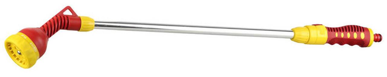 Распылитель на удлинителе, Grinda, 7-позиционный, пластиковый, поворотный (8-427441_z01)