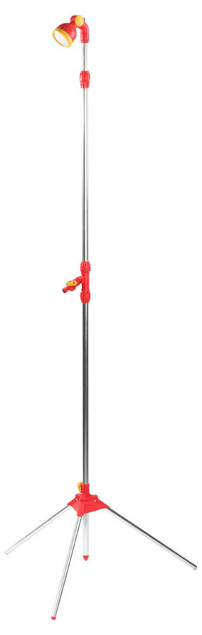 Душ садовый на треноге, Grinda, 165-220 см, регулируемая головка, телескопический удлинитель (8-428491)
