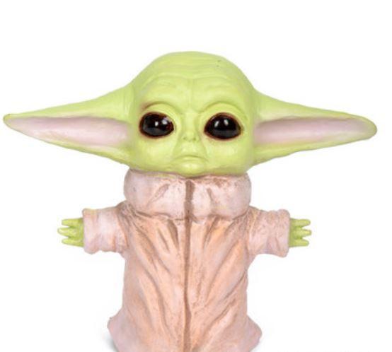 Малыш йода - резиновая игрушка