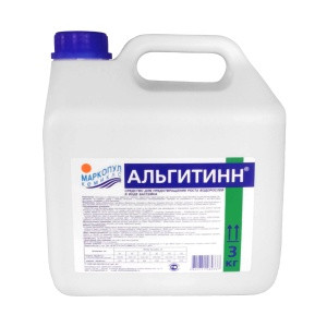 """Жидкое средство для уничтожения водорослей Маркопул """"АЛЬГИТИНН"""" (канистра, 3 л)"""