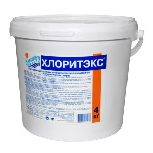 "Хлорные гранулы для хлорирования воды Маркопул  ""ХЛОРИТЭКС"" (4 кг)"