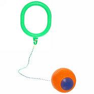 Нейроскакалка с мячом с паралоновым (пластиковый,светится), фото 4