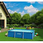 Каркасный бассейн для дачи прямоугольный 300х200х75 см, Intex 28272