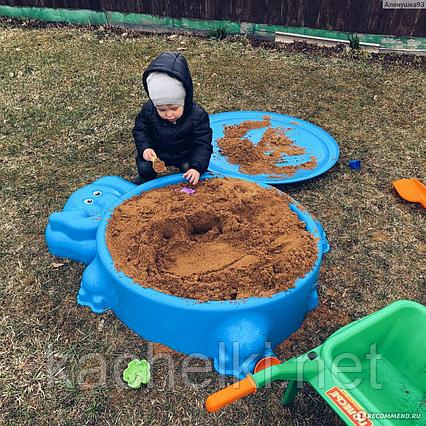 Песочница Слоник с крышкой