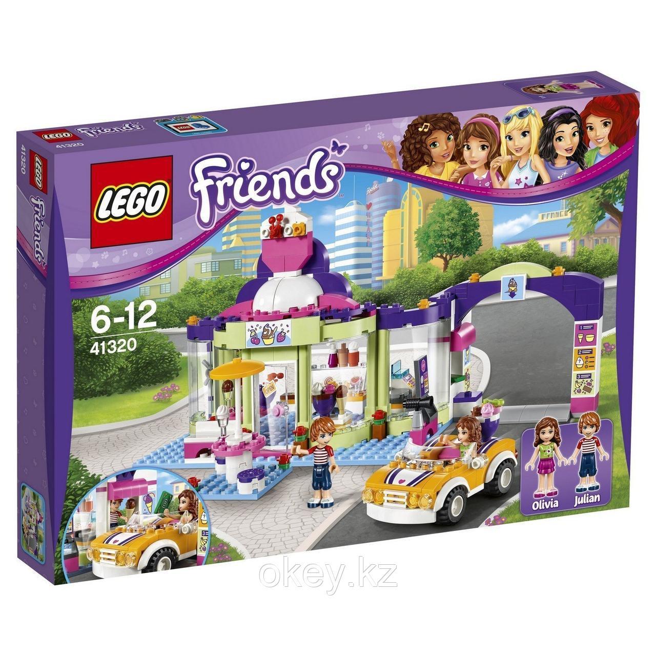 LEGO Friends: Магазин замороженных йогуртов 41320