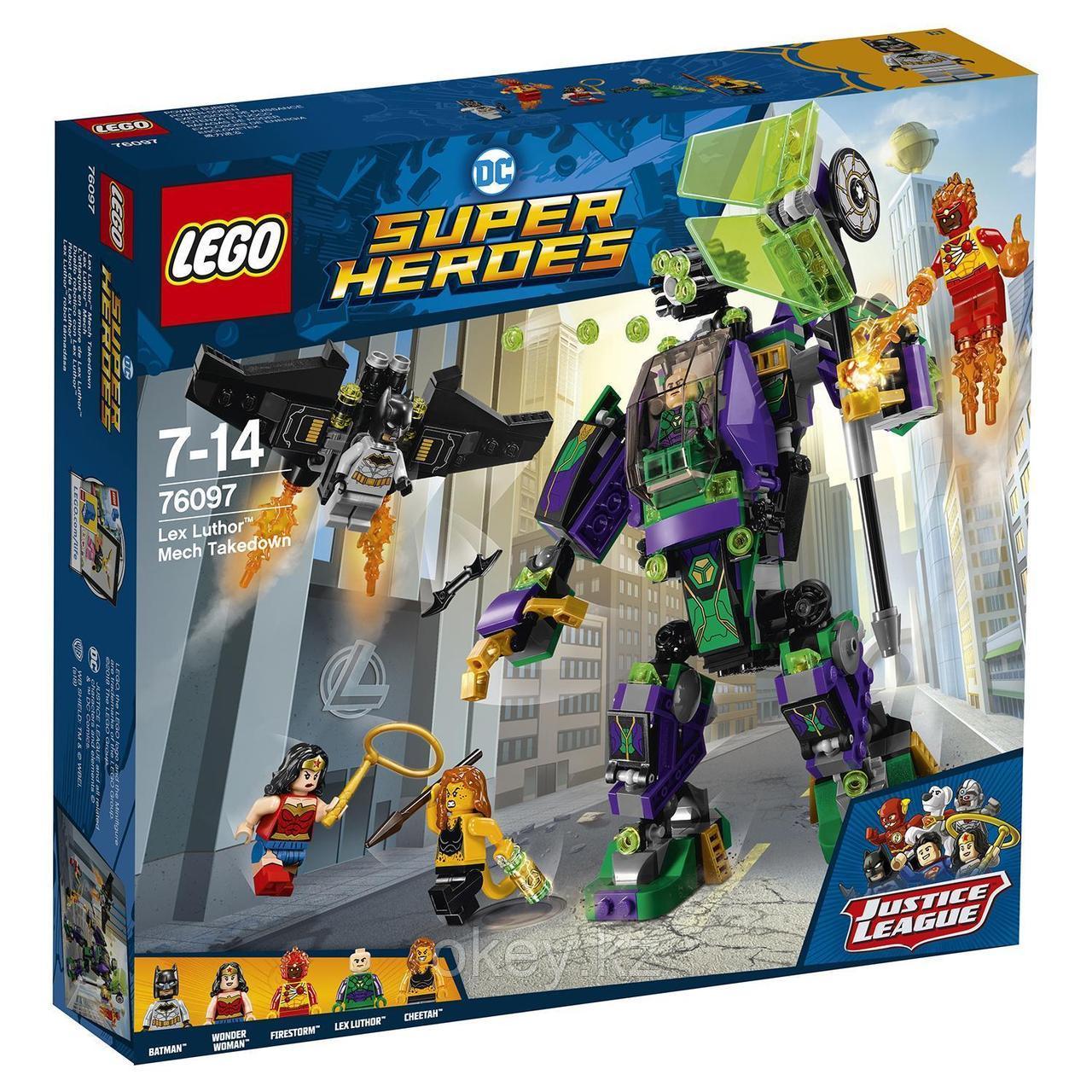 LEGO Super Heroes: Сражение с роботом Лекса Лютора 76097