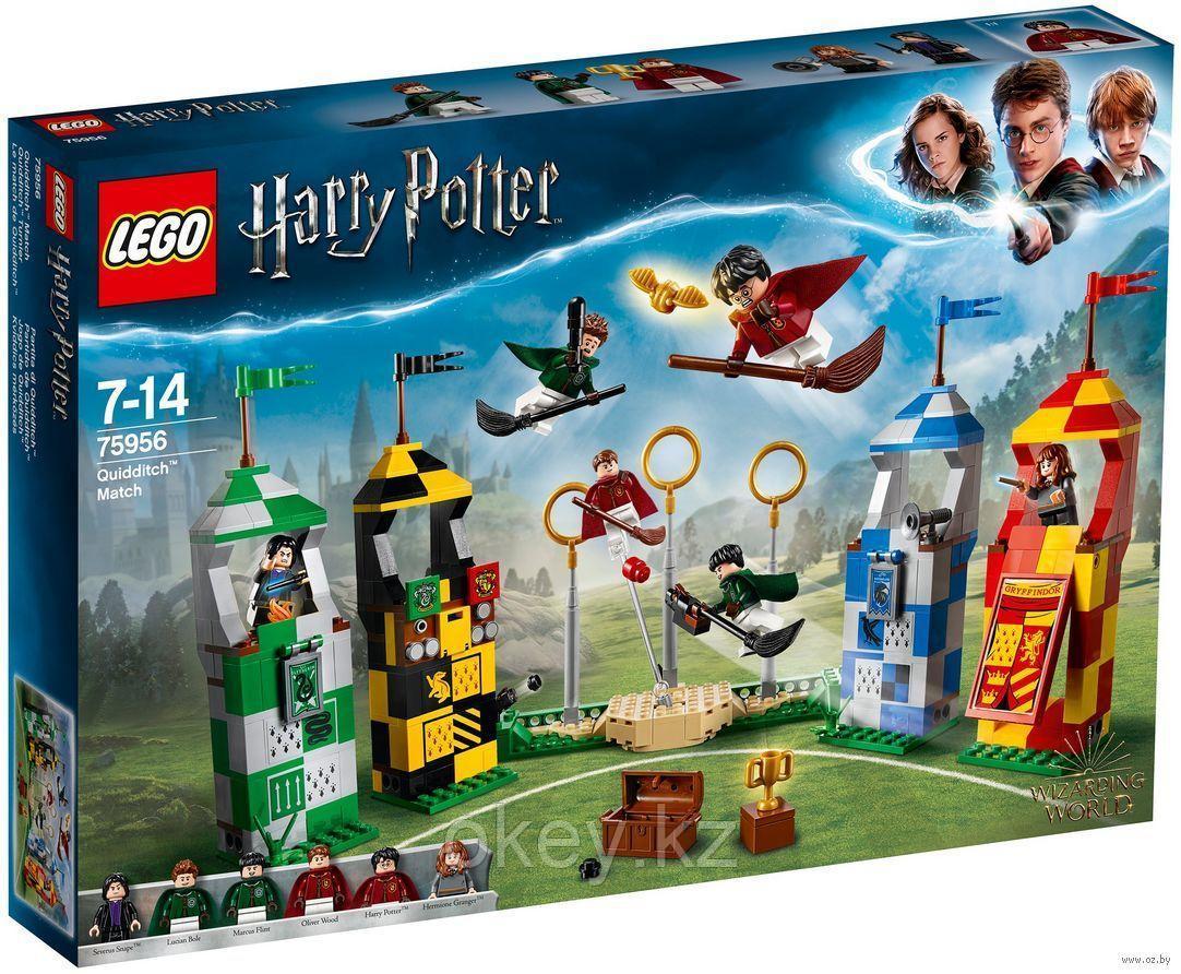 LEGO Harry Potter: Матч по Квиддичу 75956