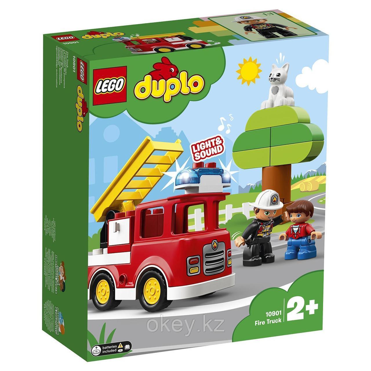 LEGO Duplo: Пожарная машина 10901