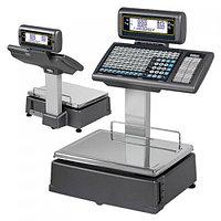 Весы торговые с печатью этикеток DIBAL M/T525D ALPHA 100К 6/15 кг со стойкой самообслуживания
