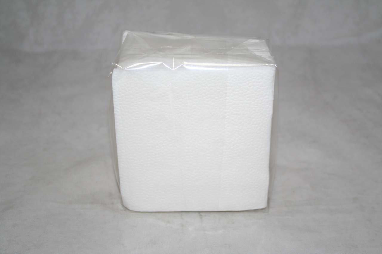 Салфетки 24х24см, 1 сл., бел.,  бумага, 100 шт/упак Аннушка, 100 шт