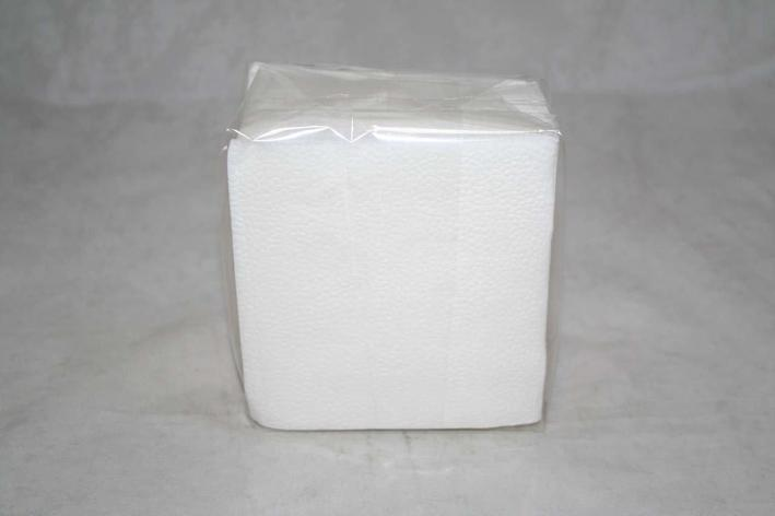 Салфетки 24х24см, 1 сл., бел.,  бумага, 100 шт/упак Аннушка, 100 шт, фото 2