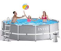 Каркасный бассейн Intex 305x99 c лестницей и фильтром 26706, фото 1