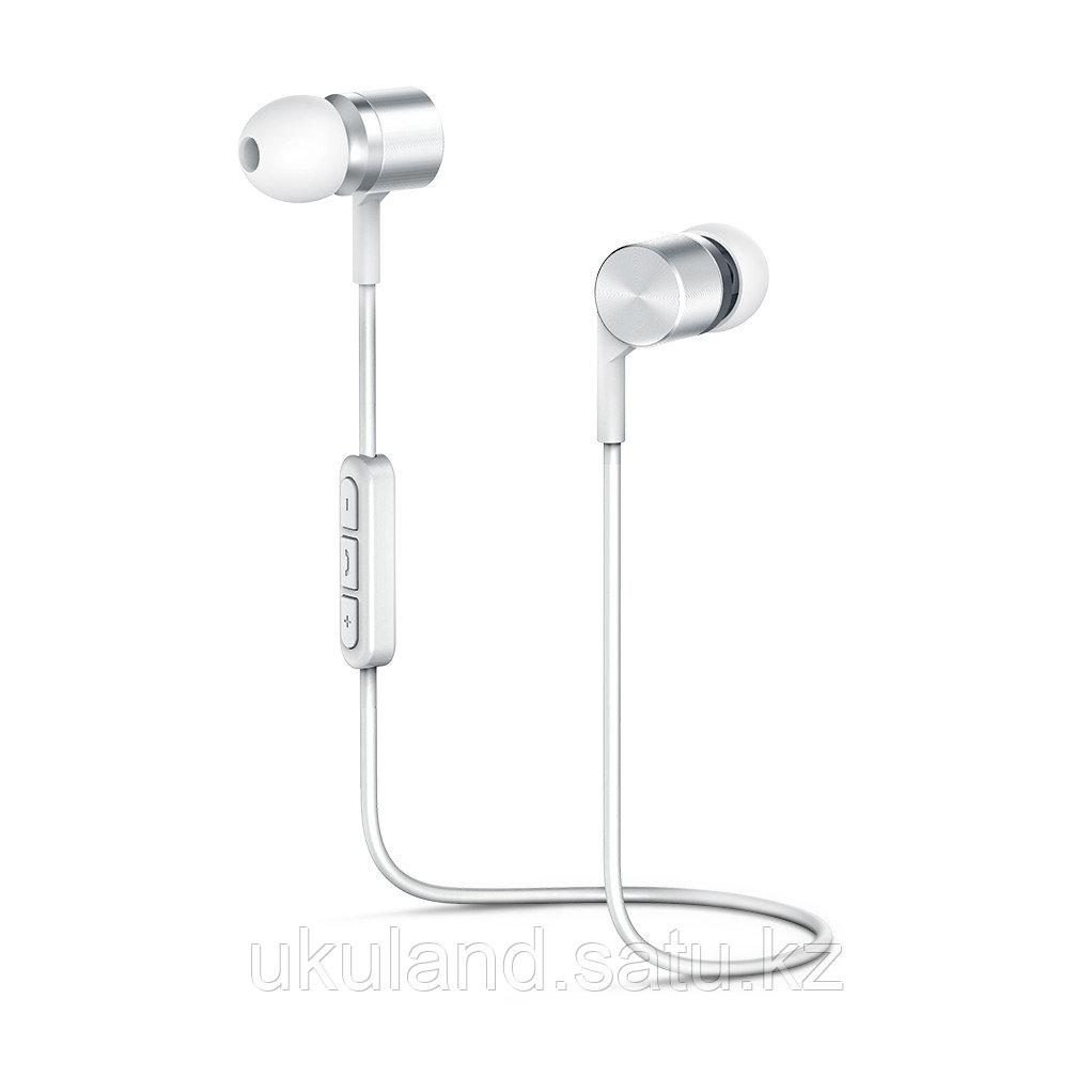"""Наушники-вкладыши беспроводные OLMIO """"BTE-05"""" Bluetooth 5.0 белый"""