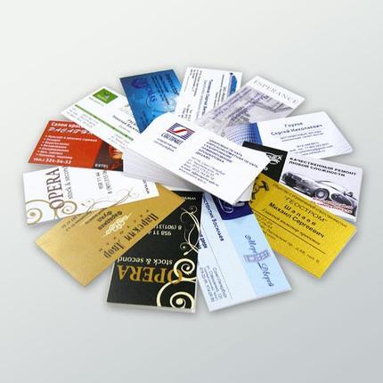 Цифровая срочная печать визиток, фото 2