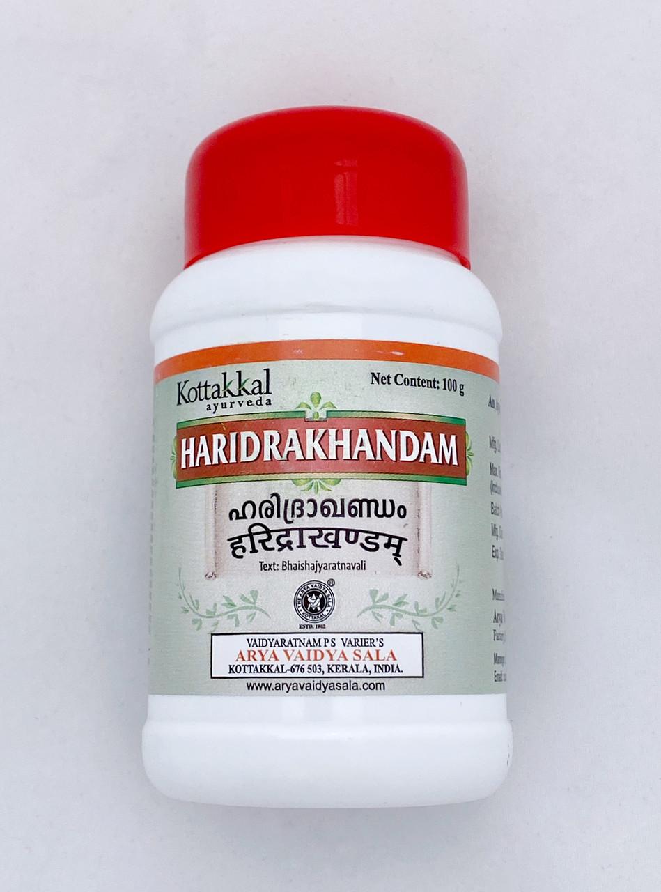 "Харидра Кхандам порошок ""Kottakkal"" Haridrakhandam, 100г"