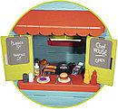 Домик детский для улицы 3 в 1: садовый домик, ресторан и магазин 810403 Smoby, фото 3