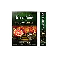 Greenfield Sicilian citrus, black tea, (1,8x20x8)