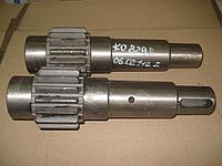 Вал-шестерня КО-829Б.06.02.112 Z на водяной центробежный насос КО-829Б, КО-829Д