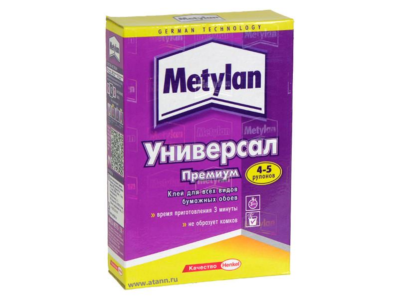 METYLAN Универсал ПРЕМИУМ Обойный клей для бумажных обоев, 150 г