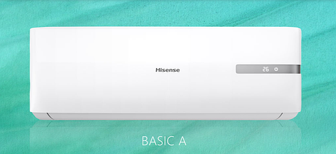 Настенная сплит-система серии Hisense BASIC A AS-12HR4SVDDL1G, фото 2