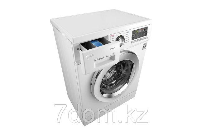 Узкая стиральная машина LG F1296CDS3, фото 2