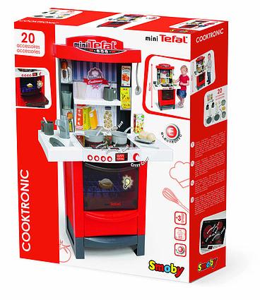 Детская игровая кухня электронная кухня Smoby Tefal Cooktronic 311501