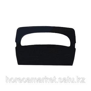 Диспенсер для бумаги от крышки унитаза черный