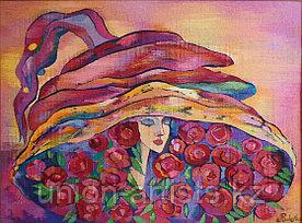 "Асанова Балнур ""Девушка в шляпе"" (""The roses Queen"")"