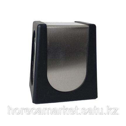 Диспенсер для салфеток настольный черный, фото 2