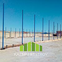 Строительство футбольного поля с нуля открытого типа в городе Актау. Форд-шевченко 7
