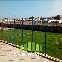Строительство футбольного поля с нуля открытого типа в городе Актау. Форд-шевченко 4
