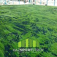 Строительство футбольного поля с нуля открытого типа в городе Актау. Форд-шевченко 2