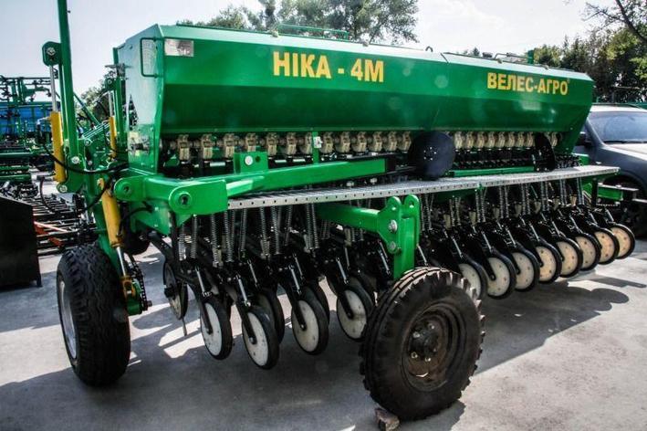Зерновая механическая сеялка CЗМ-4 прицепная, фото 2