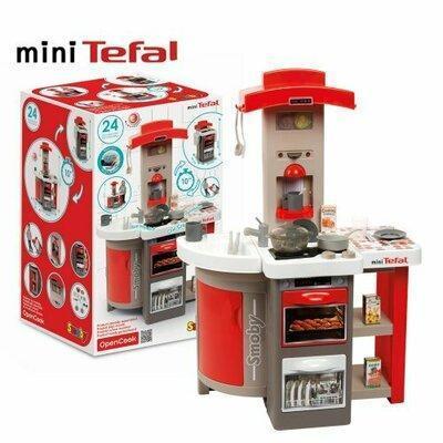 Кухня детская SMOBY Tefal 312203 Opencook, звук, пузырьки