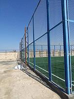 Строительство футбольного поля с нуля открытого типа в городе Актау. Форд-шевченко 3