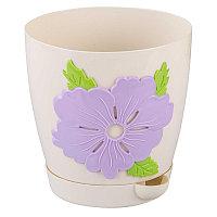Горшок цветочный Адель 1,5 л, Светло-серый, М6815