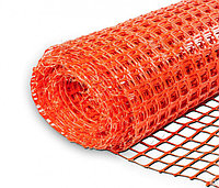 Сетка оградительная, оранжевая, 1м*50м