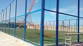 Строительство футбольного поля с нуля открытого типа в городе Актау. Форд-шевченко 11