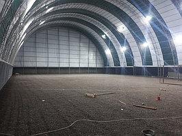 Строительство крытого футбольного поля в городе Шымкент в районе Нурсат. Стоимость 22 млн. тг с ГАРАНТИЕЙ 5 лет. 6