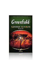 Greenfield Kenyan Sunrise black tea 100гр средне листовой