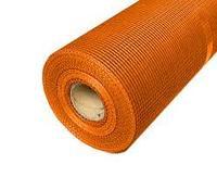 Фасадная сетка оранжевая 5*5