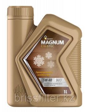 Масло моторное синтетическое Rosneft Magnum Coldtec 5W-40 1л