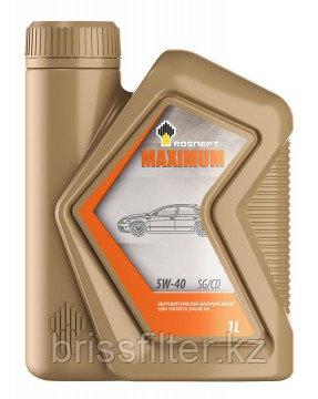 Масло моторное полусинтетическое Rosneft Maximum 5W-40 1л